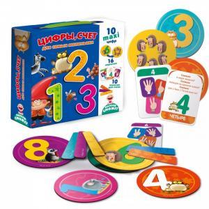 Игра настольная Цифры, счет Vladi toys