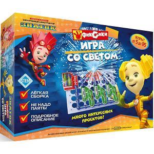 Электронный конструктор  Фиксики Игра со светом Знаток. Цвет: разноцветный