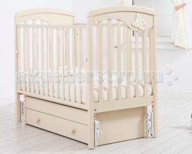 Детская кроватка  Джулия Бабочка универсальный маятник Гандылян