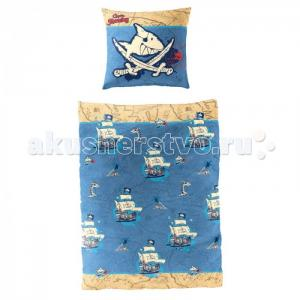 Постельное белье  Captn Sharky 90101 Spiegelburg