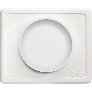 Тарелка с подставкой  Mini Bowl кремовая Ezpz
