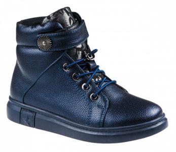 Ботинки демисезонные для девочки A-B001-72-D BiKi