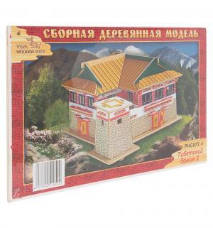 Сборная деревянная модель  Тибетский домик 2 Wooden Toys