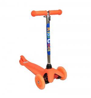 Самокат  MS06, цвет: оранжевый Kids Cool