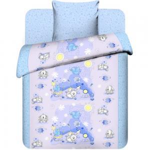 Комплект постельного белья , цвет: сиреневый Василек