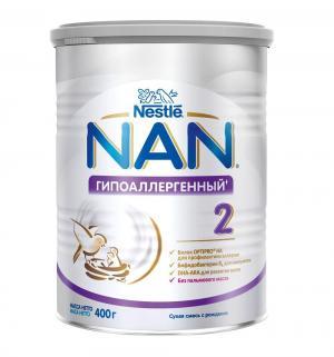 Молочная смесь  Optipro 2 гипоаллергенная с 6 месяцев, 400 г Nan
