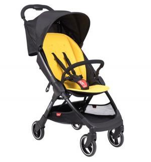 Прогулочная коляска  Go, цвет: lemon Phil and Teds