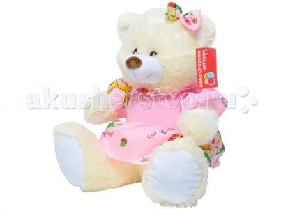 Мягкая игрушка  Мишка малый в платье 45 см Нижегородская