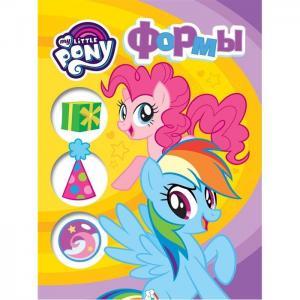 Книга  Мои первые уроки «обучающая на картоне Формы» 0+ My Little Pony
