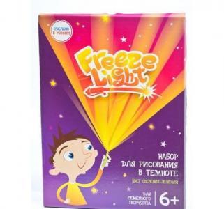 Набор для рисования в темноте  30 х 40 Планшет (А3) медиум Freeze Light