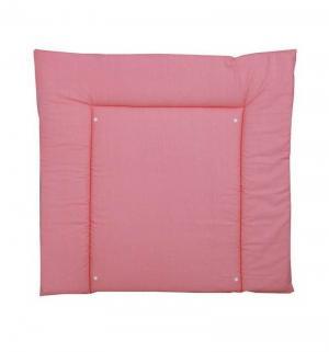 Пеленальная доска  Зиг-заг, цвет: серый/розовый Polini