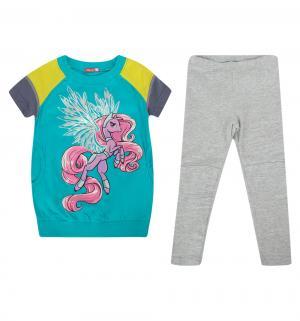 Комплект платье/брюки , цвет: голубой Pelican