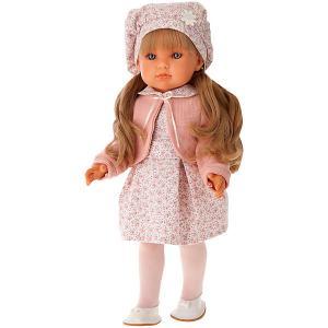 Кукла  Амалия в розовом, 45 см Munecas Antonio Juan. Цвет: розовый