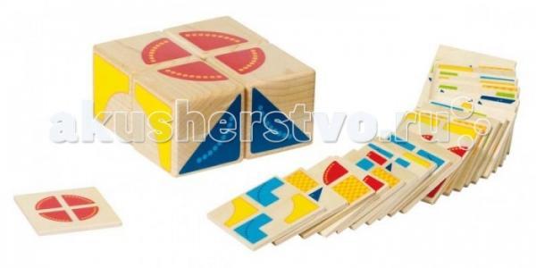 Развивающая игрушка  Игра Кубус карточки с заданиями Goki