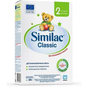 Молочная смесь  Classic 2, с 6 мес, 300 г Similac