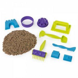 Кинетический песок набор для лепки Веселая пляжная игра Kinetic Sand