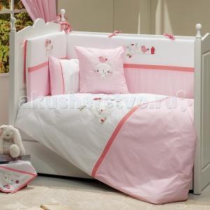 Комплект в кроватку  Tweet Home 120x60 (5 предметов) Funnababy