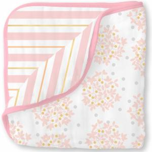 Одеяло  Luxe Muslin Heavenly Floral SwaddleDesigns