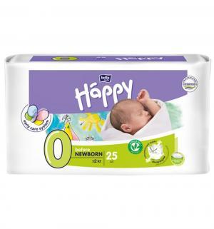 Подгузники  Baby Happy Newborn 0 (до 2 кг) 25 шт. Bella