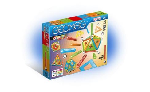 Конструктор  магнитный Confetti (50 деталей) Geomag