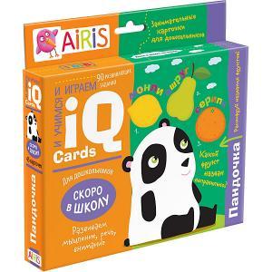 Набор занимательных карточек для дошколят Пандочка АЙРИС-пресс