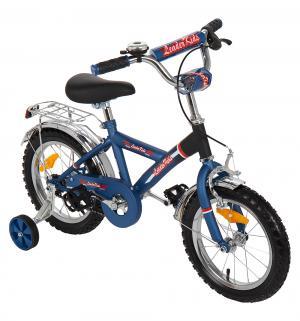 Двухколесный велосипед  G14BD213, цвет: синий Leader Kids