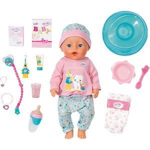 Интерактивная кукла  Baby Born Чистим зубки, 43 см Zapf Creation