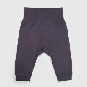 Комплект брюки 2 шт.  Городская линейка, цвет: серый/белый Happy Baby