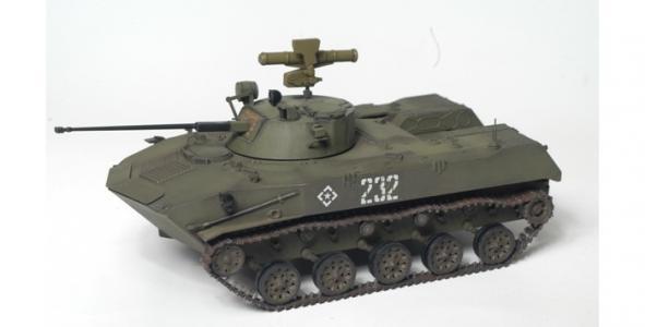 Сборная модель Российская боевая машина пехоты БМД-2 Звезда