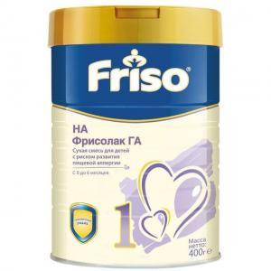 Молочная смесь  ГА с пребиотиками и нуклеотидами 0-6 месяцев, 400 г Friso