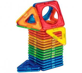 Конструктор  магнитный Basic Plus Мальчик (26 деталей) Magformers