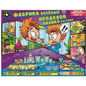 Набор для экспериментов Science agents Фабрика веселых проделок Toys Lab. Цвет: разноцветный