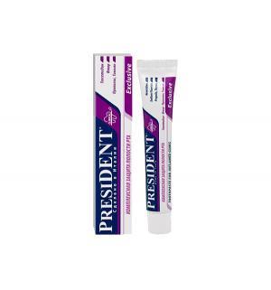 Зубная паста  Exclusive Противовоспалительная, 50 мл President