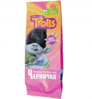 Мармелад детский  Trolls Черничка, 105 г, 1 шт Лакомство для здоровья