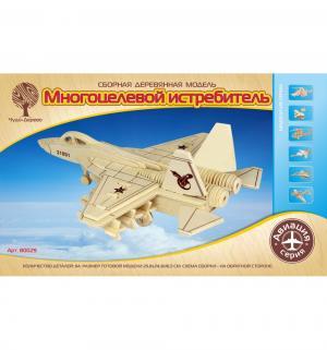 Деревянный конструктор  Многоцелевой истребитель Wooden Toys