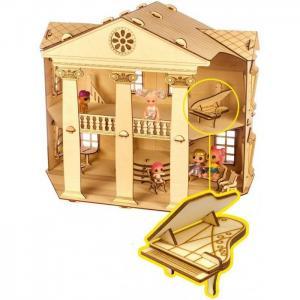 Кукольный домик Белый дом конструктор Теремок