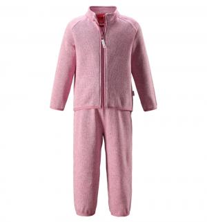 Комплект термобелья кофта/брюки  Tahto, цвет: розовый Reima