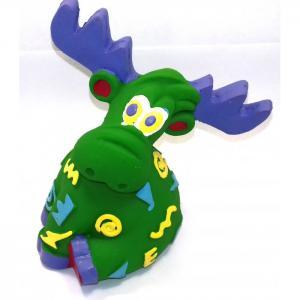 Латексная игрушка Олень удивленный 1449 Lanco