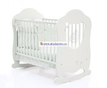 Детская кроватка  Bear 120x60 Bambolina