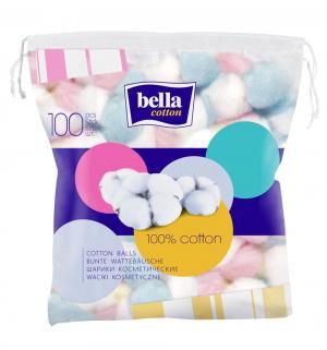 Шарики из ваты  Cotton, 100 шт Bella