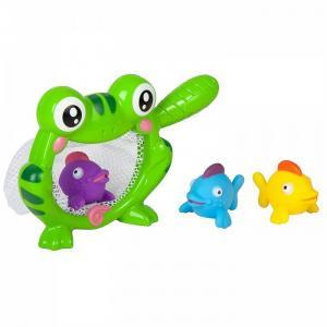 Игровой набор для купания Лягушка-сачок Bondibon