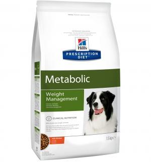 Сухой диетический корм Hills Prescription Diet для взрослых собак коррекции веса, мясное ассорти, 1.5кг Hill's