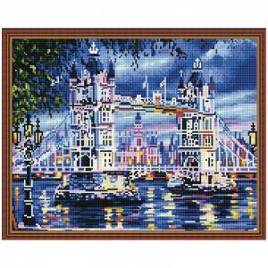 Картина мозаика Тауэрский мост 40х50 см Molly