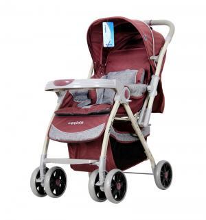 Прогулочная коляска  Chippo, цвет: красный/бордовый Indigo