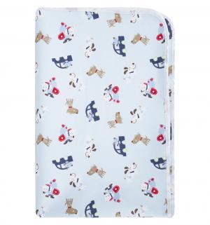 Пеленка  двусторонняя 3-х слойная непромокаемая 60х90 см, 1 шт, цвет: голубой Multi-Diapers