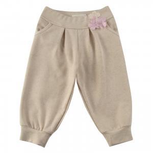 Спортивные штаны для девочки Wojcik. Цвет: бежевый