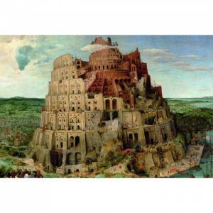 Пазл Питер Брейгель Вавилонская башня 1000 деталей Piatnik