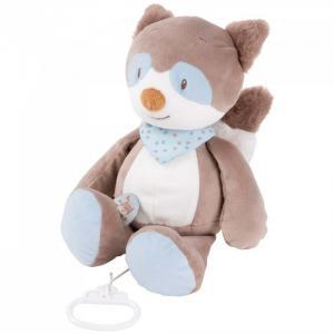 Мягкая игрушка  Musical Soft toy Jim & Bob Енот музыкальная 21 см Nattou