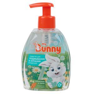 Средство для купания и подмывания  с липой облепихой д-пантенолом, 300 мл My Bunny