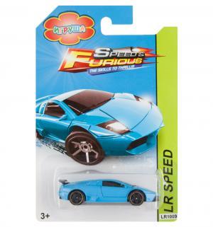 Машинка  Hot speed голубая 7.5 см Игруша
